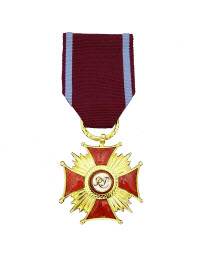 Gold Cross of Merit from The Republic of Poland